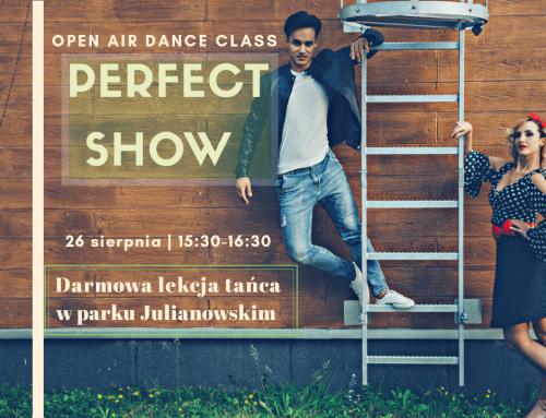Darmowa lekcja tańca w parku 26 sierpnia!