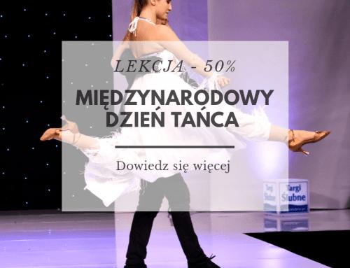 Międzynarodowy Dzień Tańca – Lekcja – 50 %